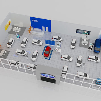 160.363 Ford POS Plan 2017 Impressie Showroom 3D 20-10-2016_355x355px